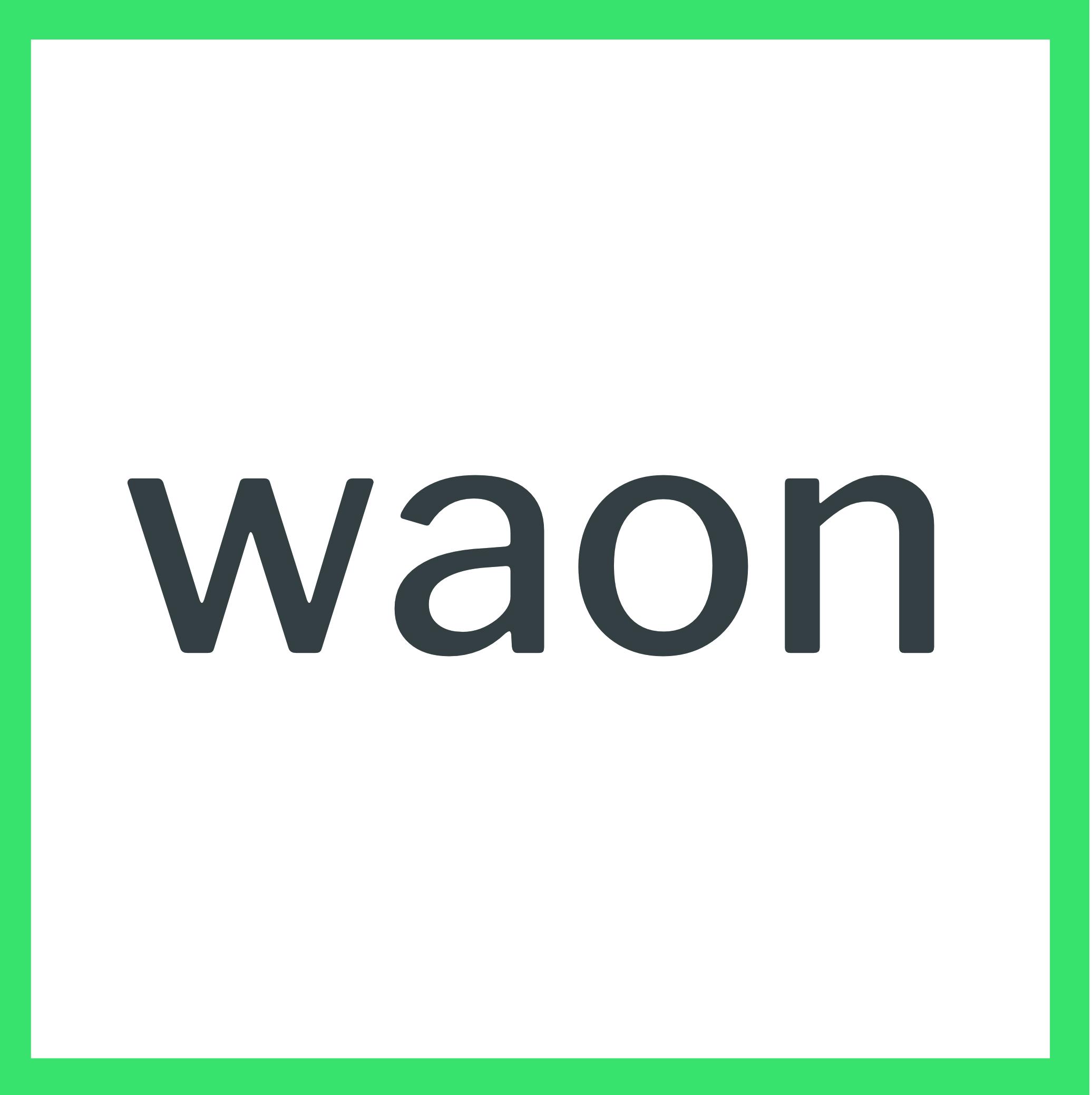 :waon: