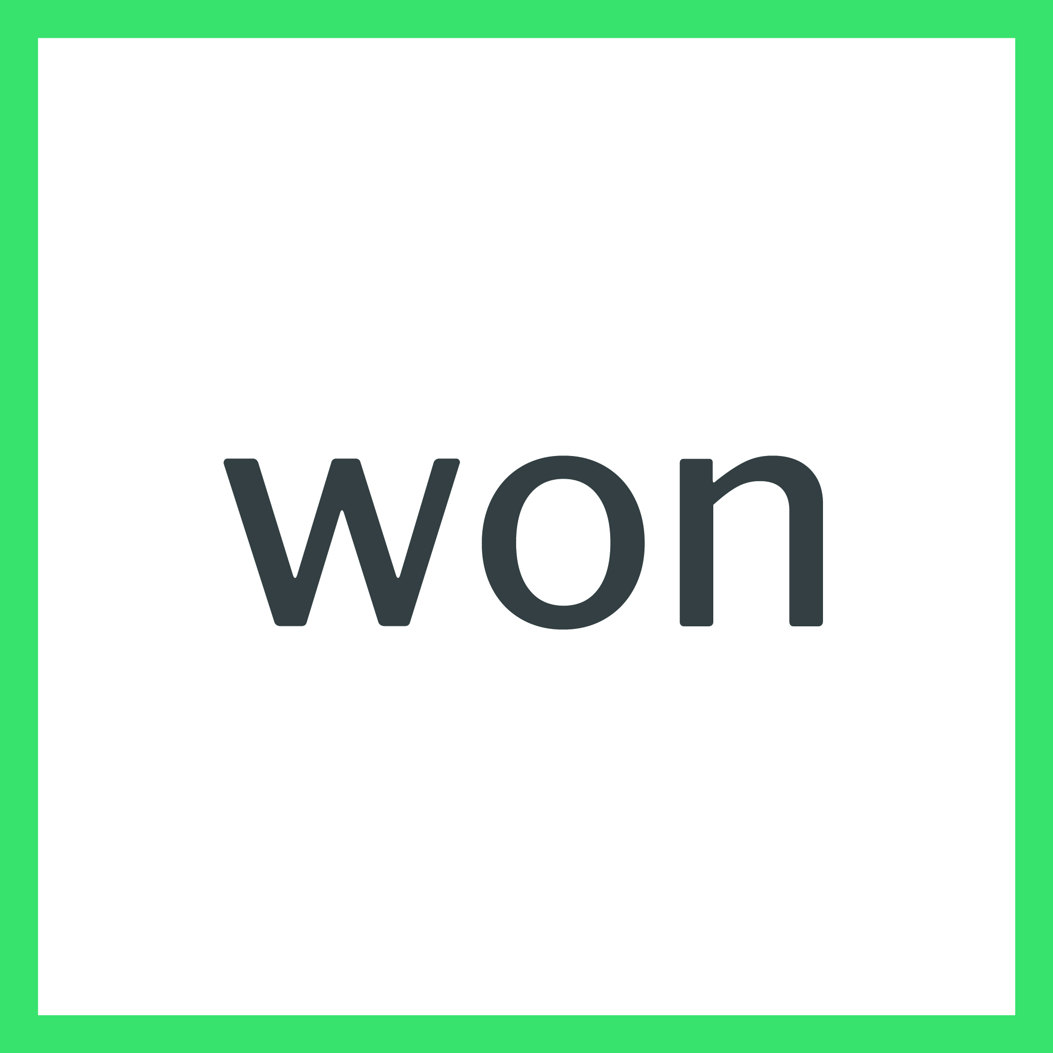 :won: